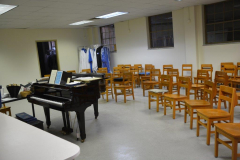 New choir room