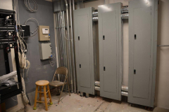 Wiring cabinets in McGeachy