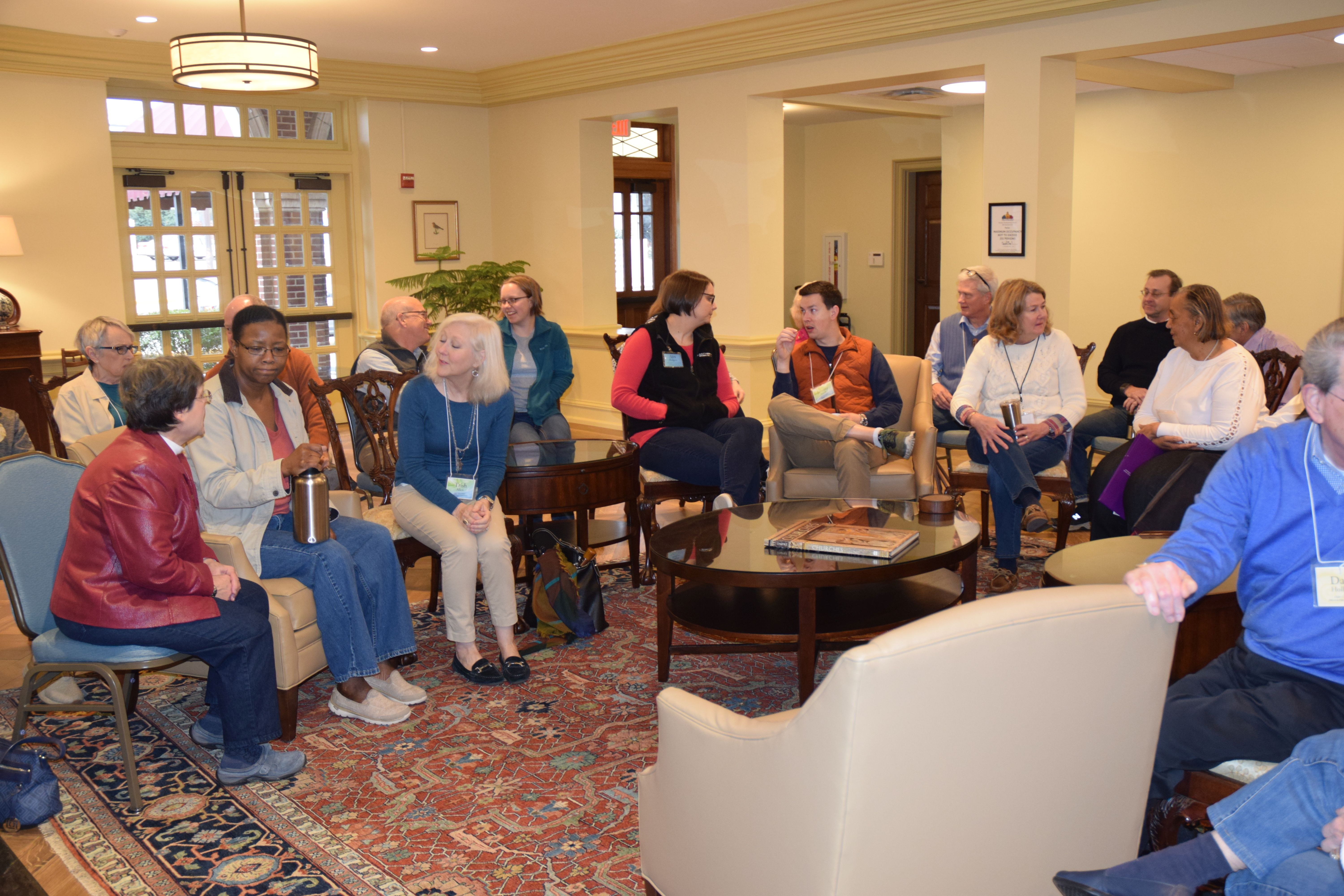 Discussions in Parlor 1