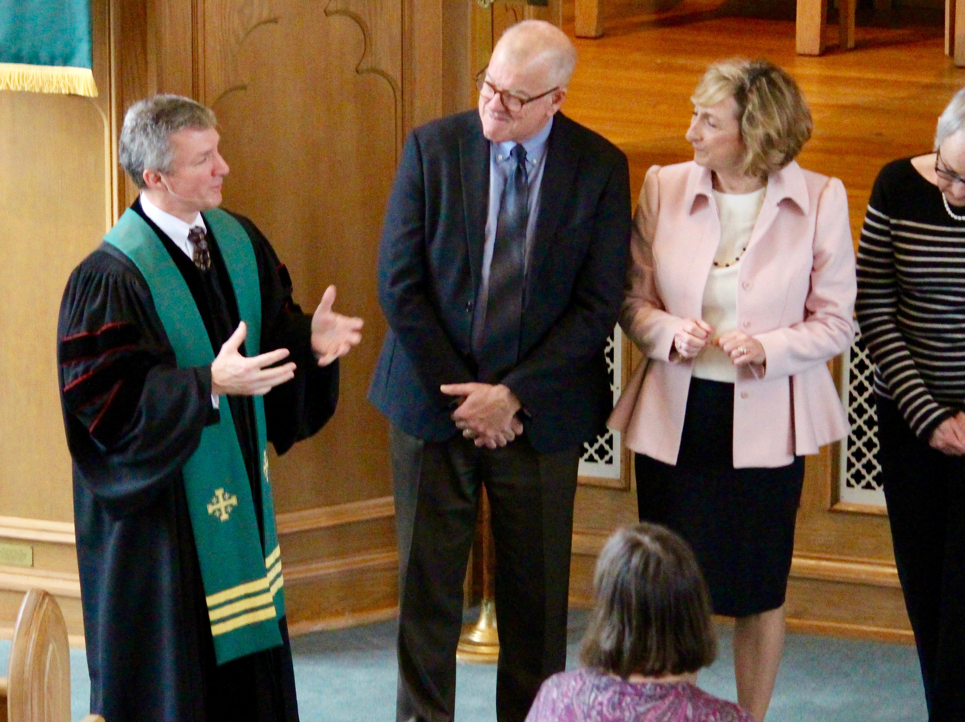 Rev. Speed Gives a Charge to Elders