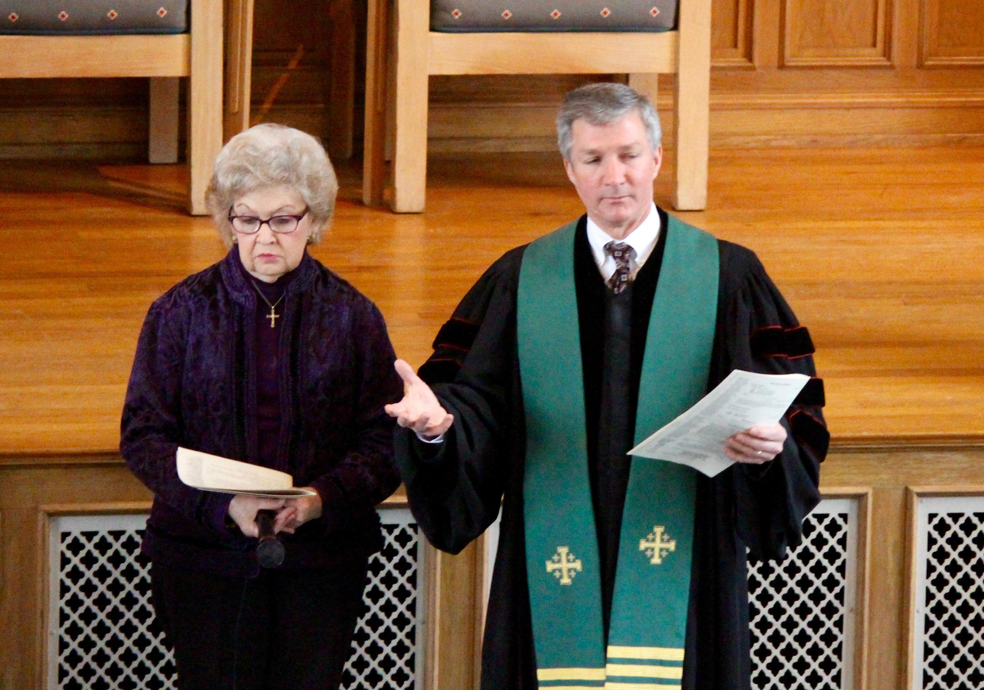 Rev. Speed Presents Elders