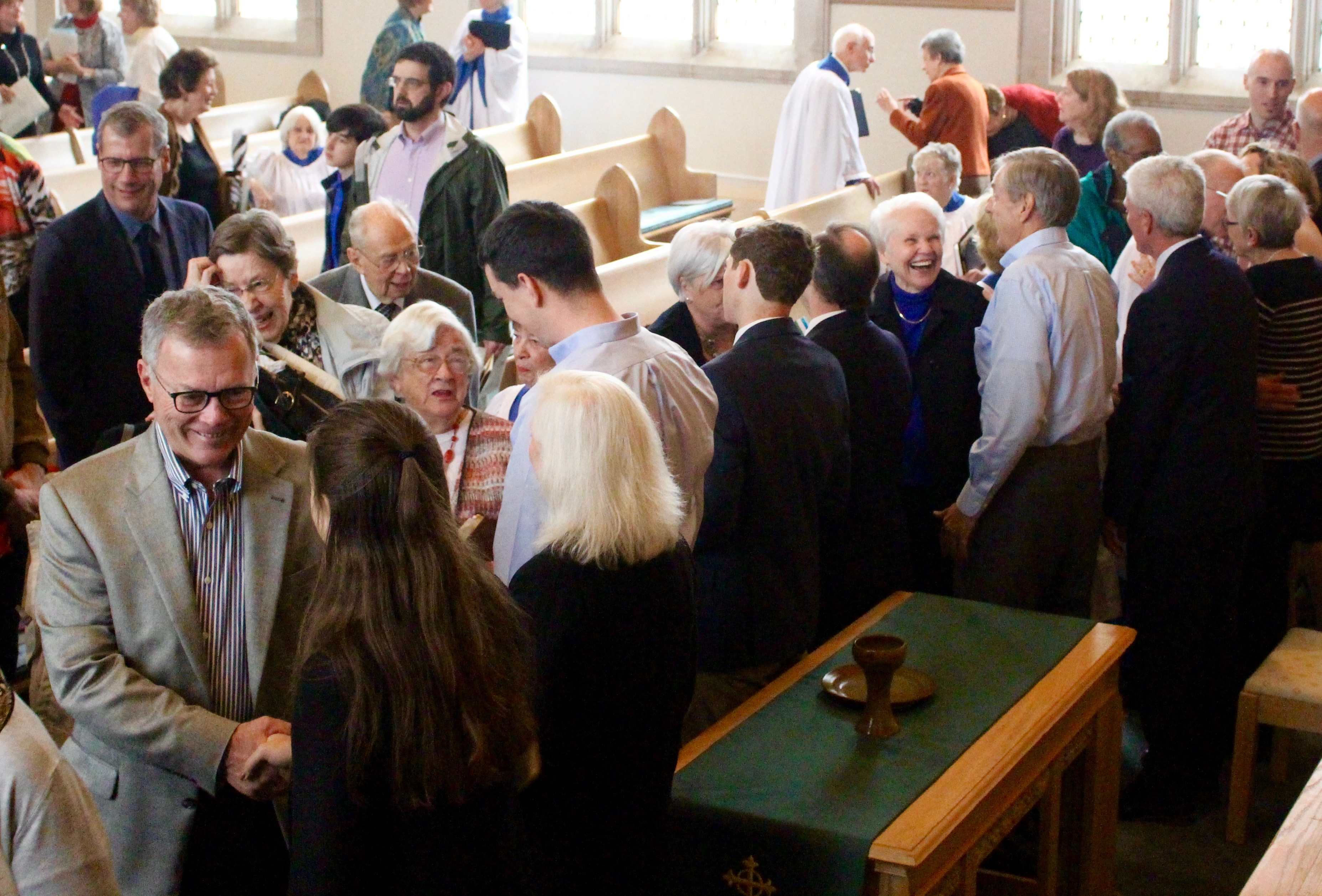 The Congregation Greets New Elders 2