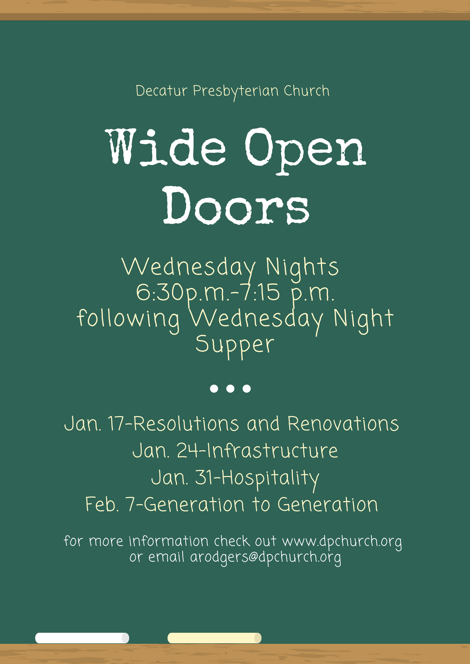 wide open doors. Reverend Alex Rodgers Will Continue A New Wednesday Evening Discussion Series Entitled \u201cWide Open Doors\u201d. This Considers The Goals Of Decatur Wide Doors I